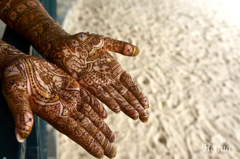 Indian Henna design Saras Henna