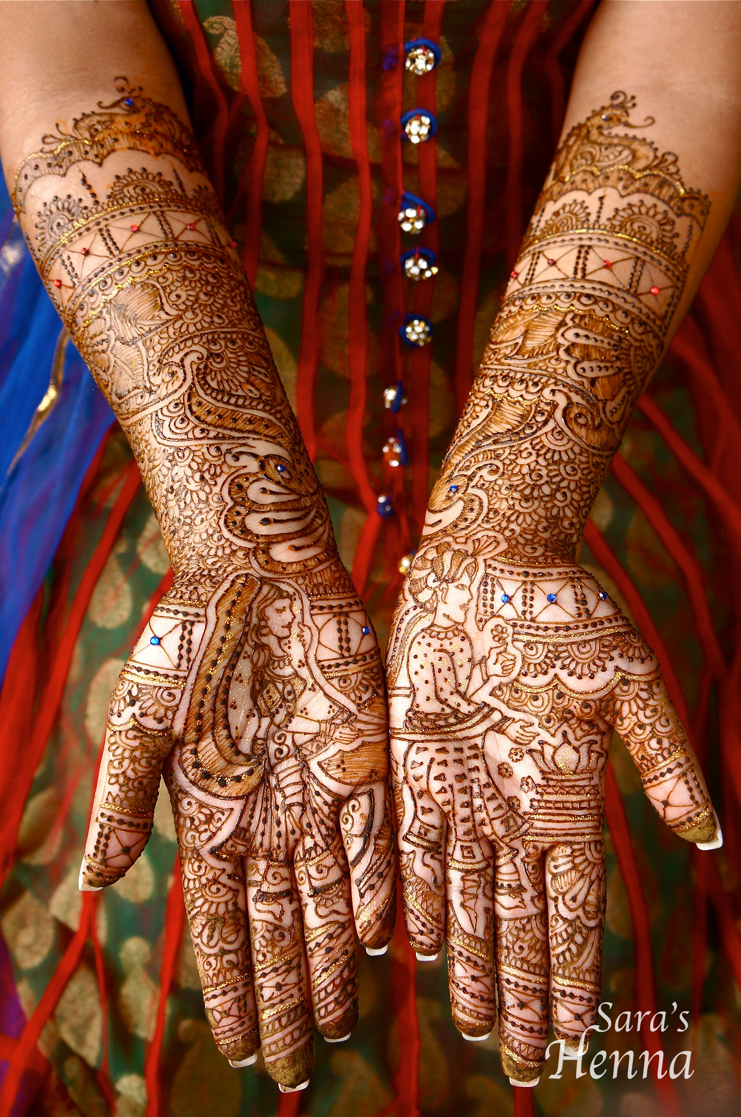 Indian Henna Tattoos Full Body: Contemporary Henna: Breath-taking Designs By Sara's Henna
