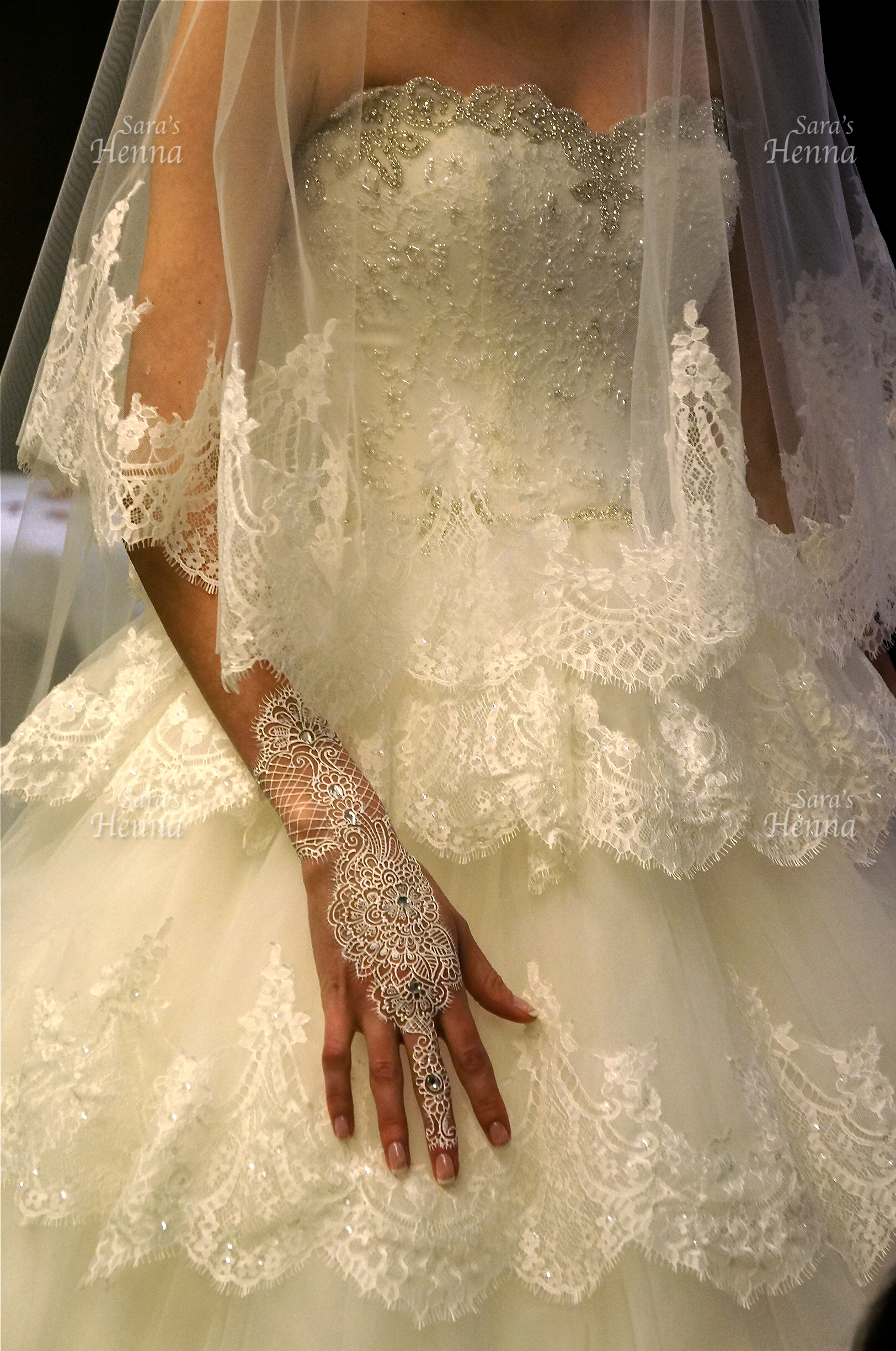 White Henna Bridal B Beauty Arabia