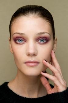 colourful smokey eyes makeup guy laroche spring 2015