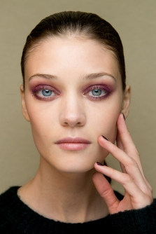 colourful smokey eyes makeup guy laroche spring 2015