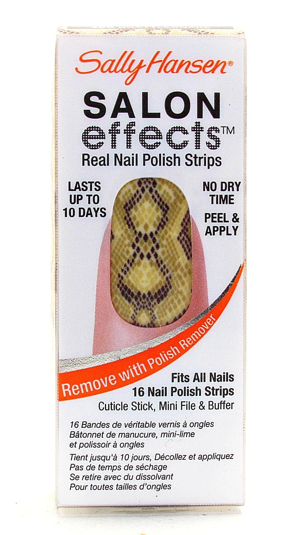 sally hansen nail strips nail wraps