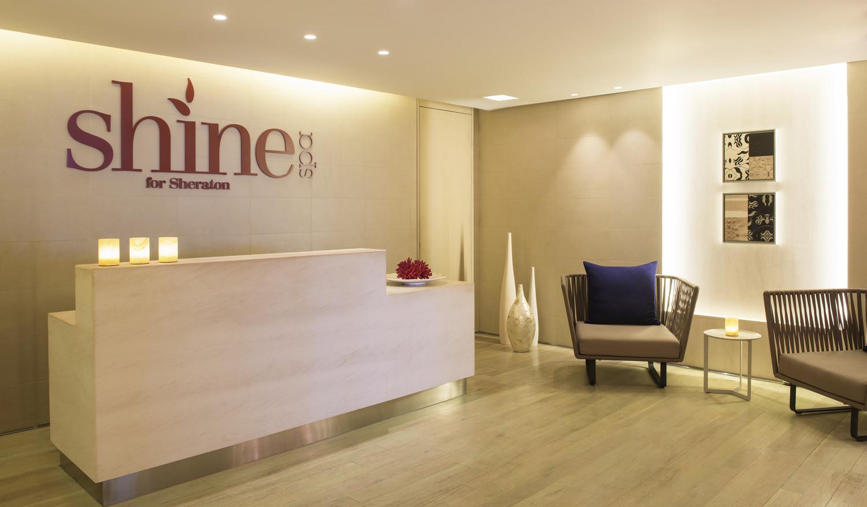 Shine Spa Sheraton Dubai Mall of the Emirates- Reception