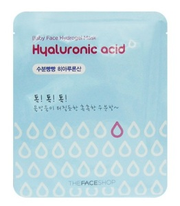 The Face Shop Hyaluronic Acid Hydrogel Face Mask