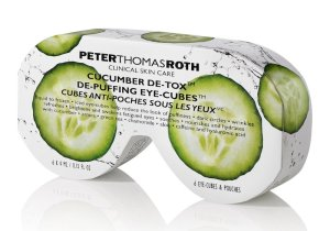 Peter Thomas Roth Cucmber Detox Eye Cubes Summer Skincare Tips