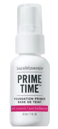 Bareminerals Prime time Oil Control foundation primer