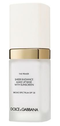 Dolce Gabbana The Primer Sheer Radiance Makeup Base SPF 30