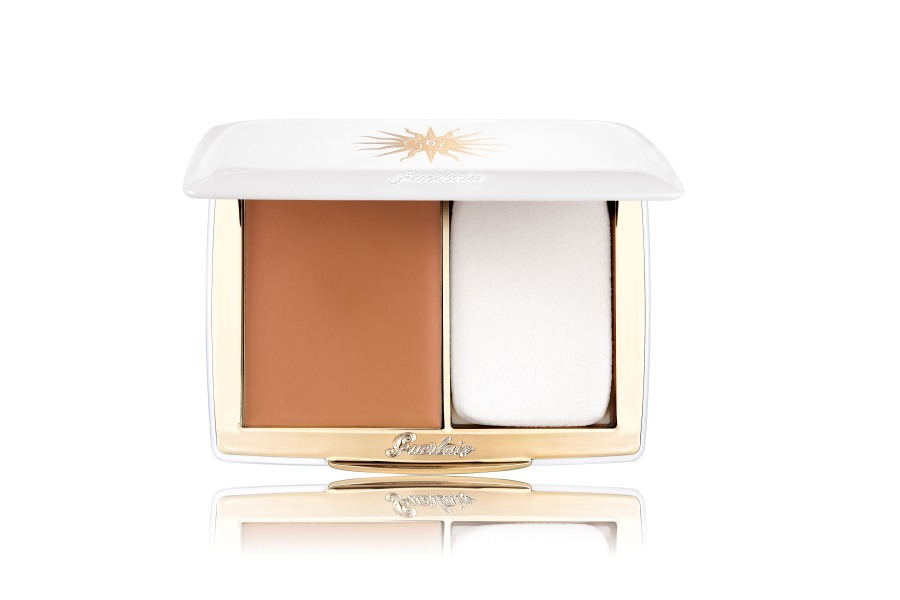 Guerlain Terracotta Sun Protection Compact Foundation SPF 20- Sand