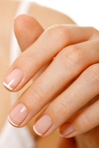 natural nails buffing