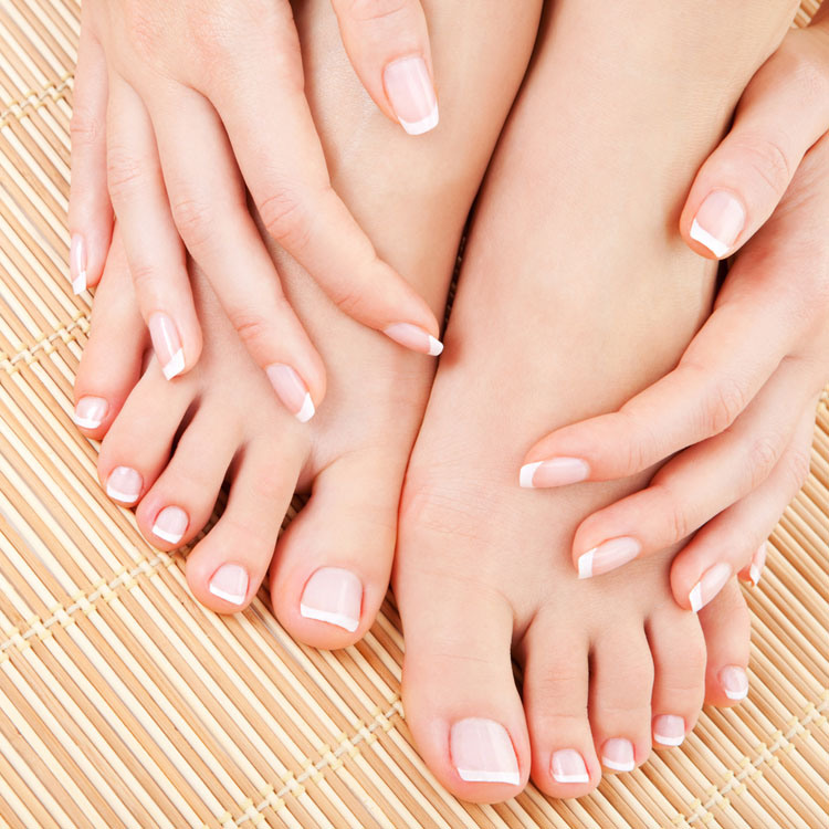 mani pedi nail buffing ramadan natural nails