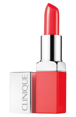 Clinique Pop Lip Color & Primer- Poppy Pop