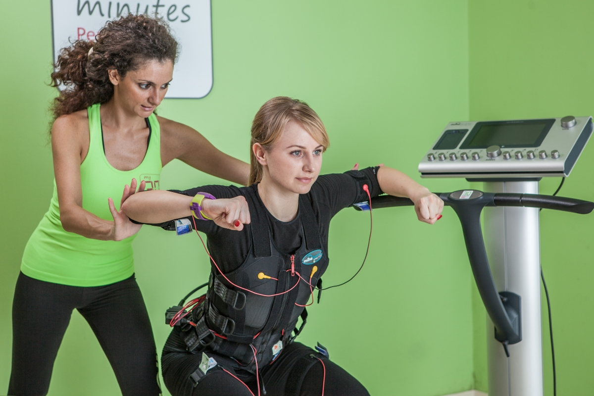 Fast Fitness: Electrical Muscle Stimulation