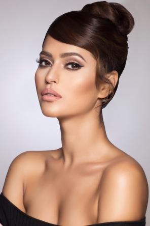 Bridal Makeup Glossy Makeup Natasha Zaki