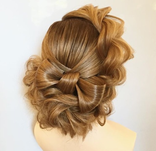 Georgiy Kot wedding hair