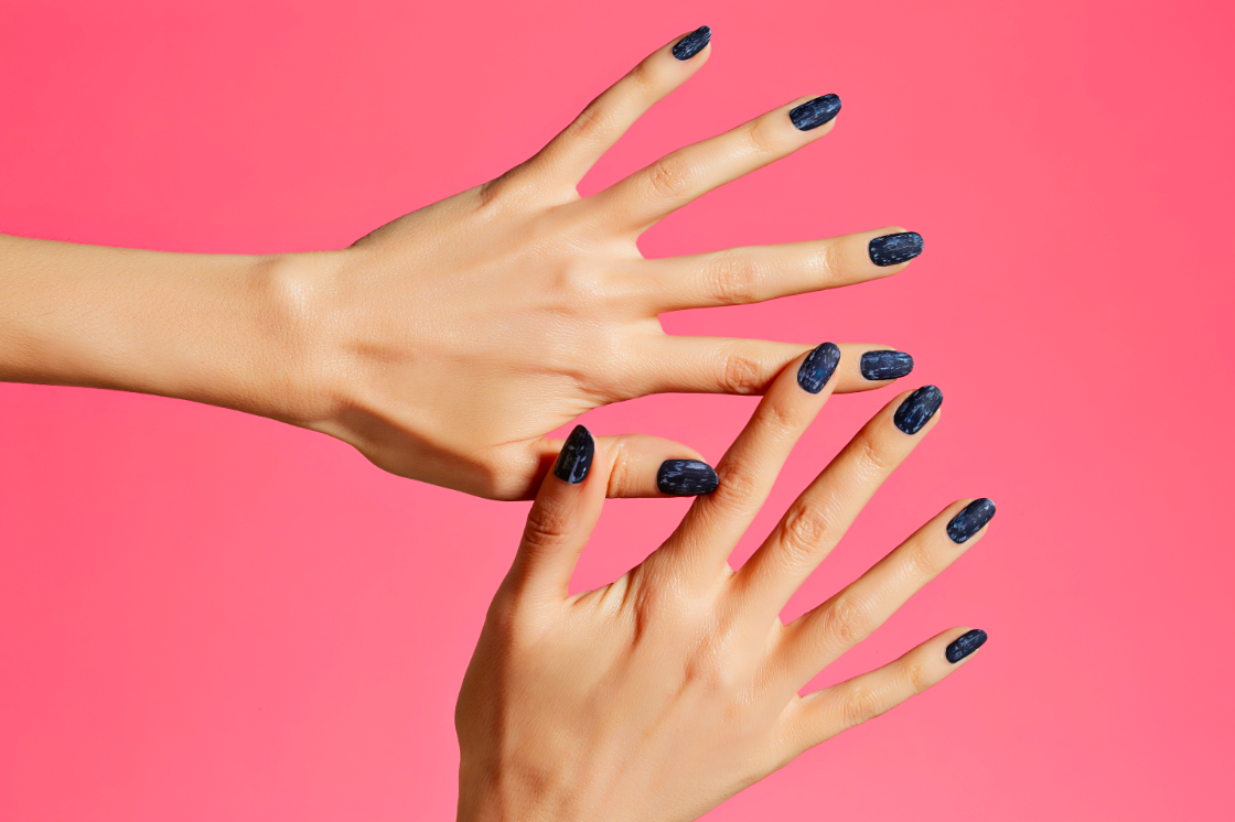 Smudge Remove Dark Nail Polish Without