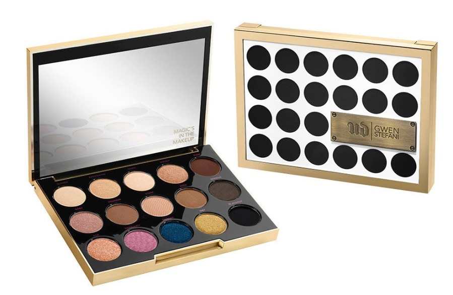 Urban Decay X Gwen Stefani Makeup Collection Eyeshadow Palette
