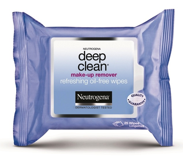 Neutrogena Deep Clean Makeup Remover Refreshing Oil Free Wipes