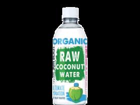 organic raw coconut water