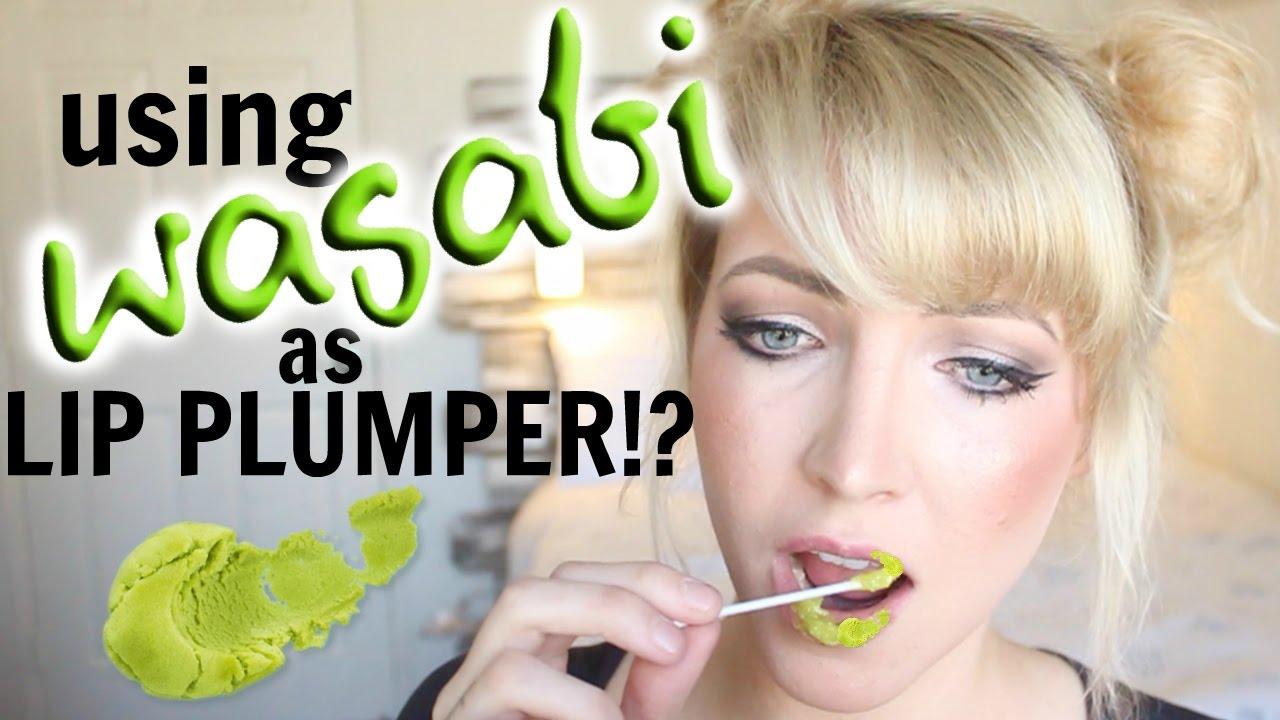 wasabi lip plumper